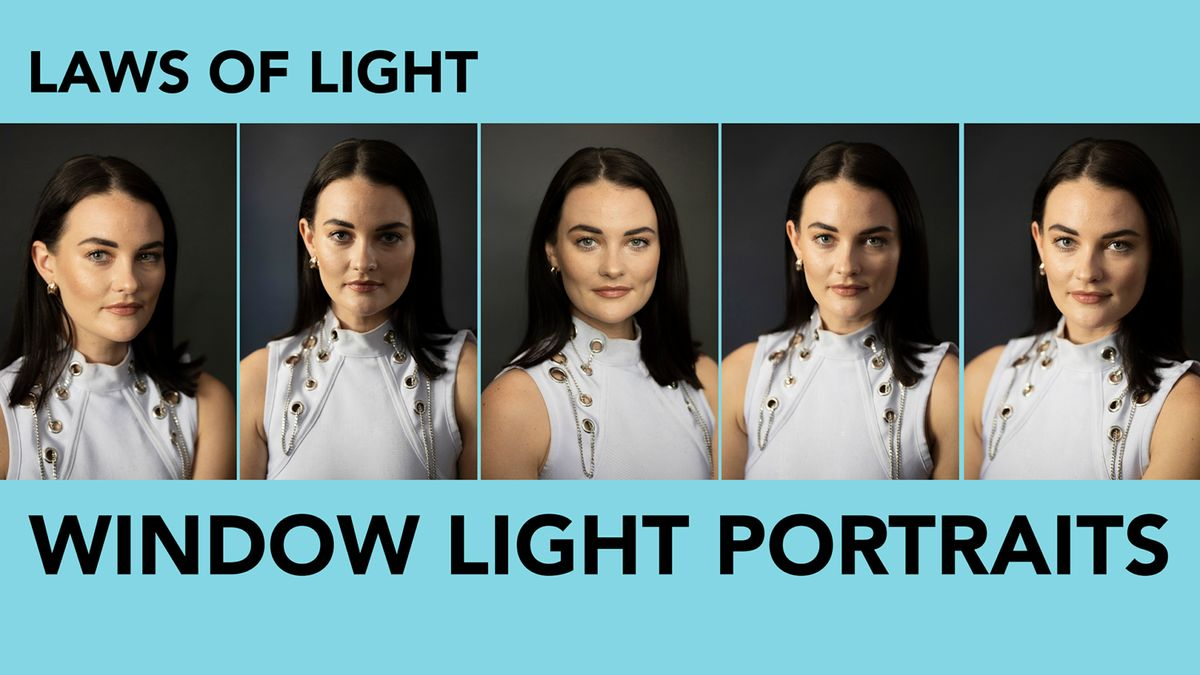 5 Window Light Portrait Positions